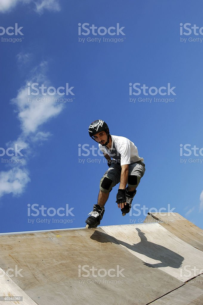 roller skate royalty-free stock photo