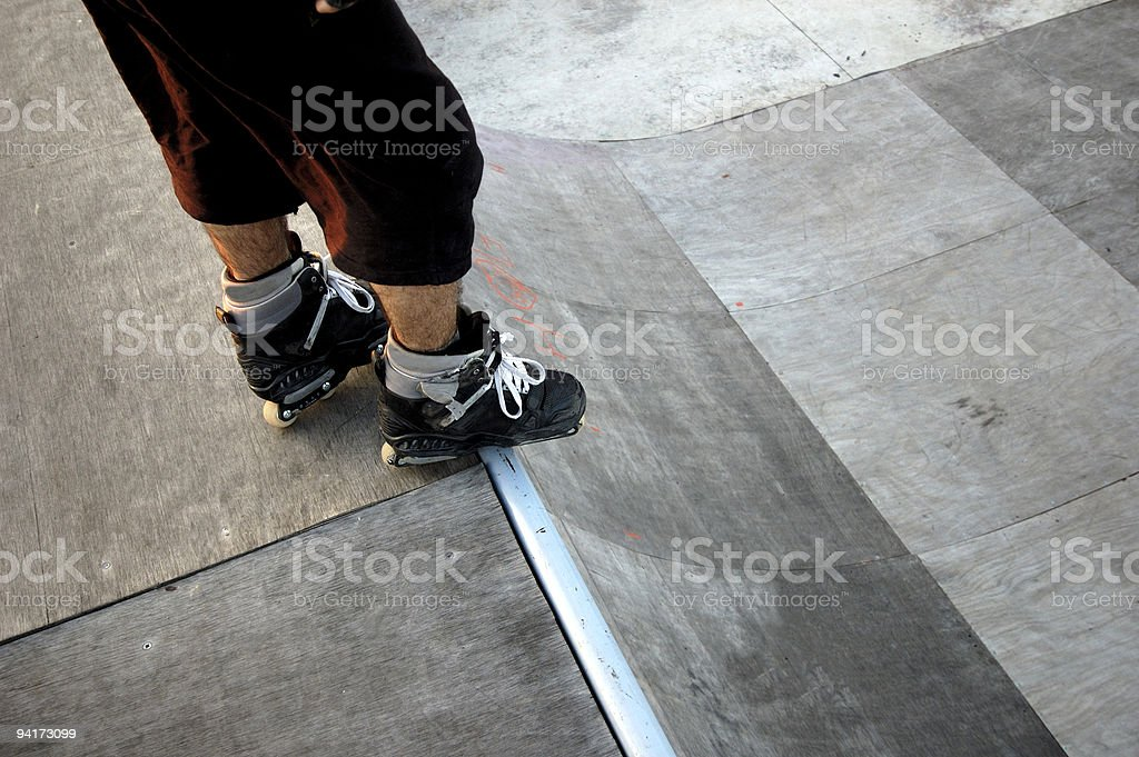 Roller Skate royalty-free stock photo