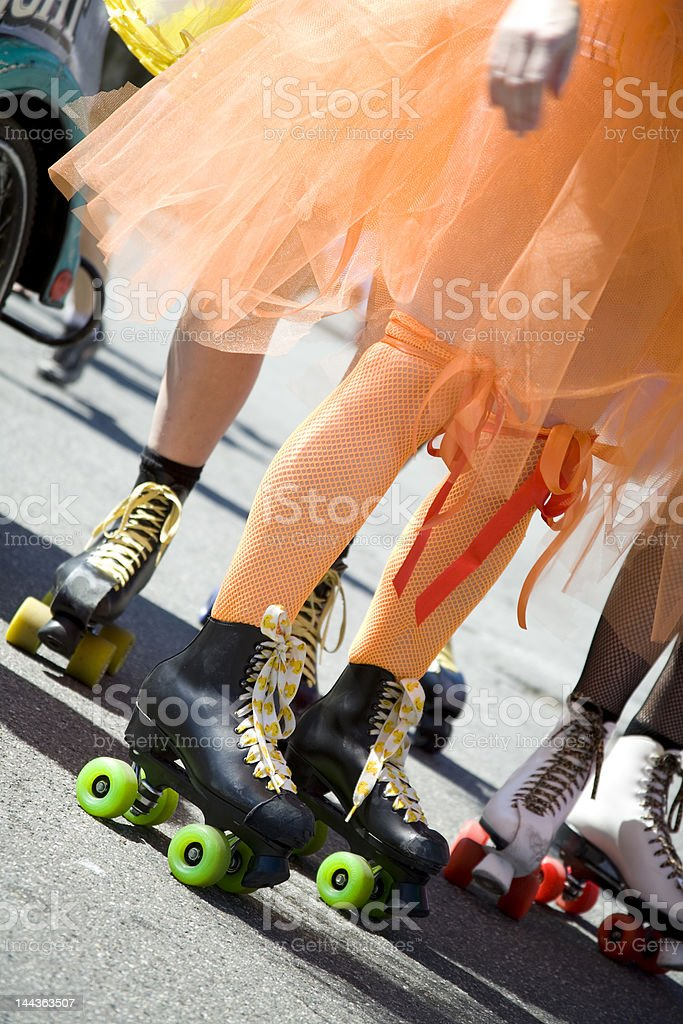Roller Skating royalty-free stock photo