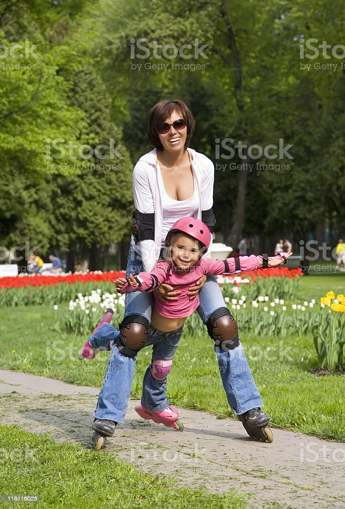 rollerblades royalty-free stock photo