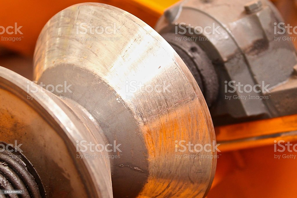 rollers conic section stock photo