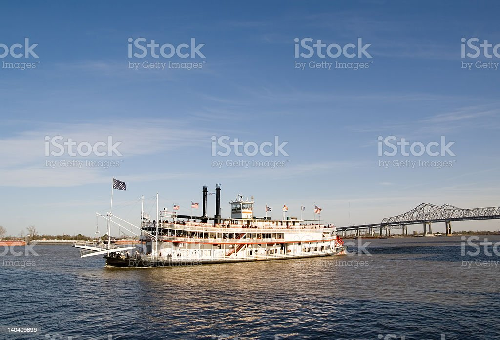 Rollin' on the River royalty-free stock photo