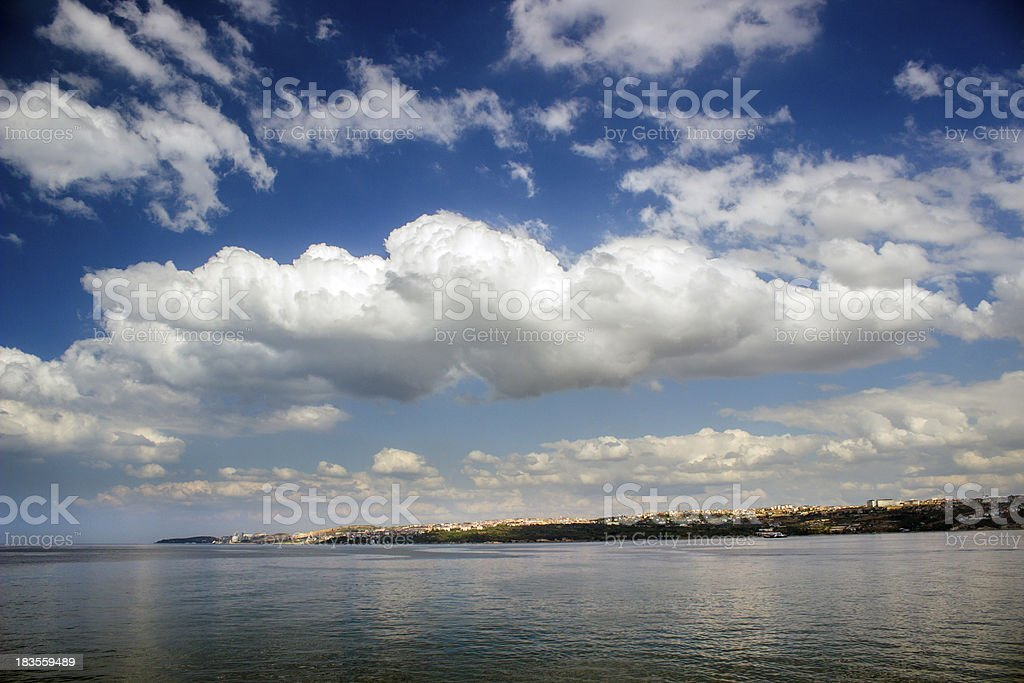 Rolling Cloud royalty-free stock photo