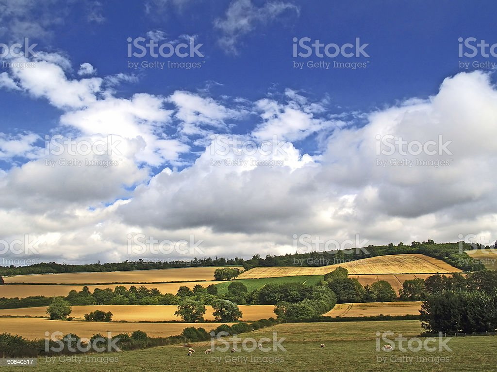 Rolling Clouds of Summer royalty-free stock photo