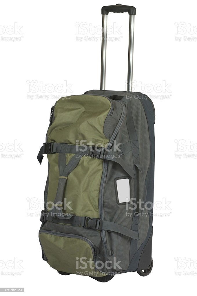 Rolling Duffle Bag royalty-free stock photo