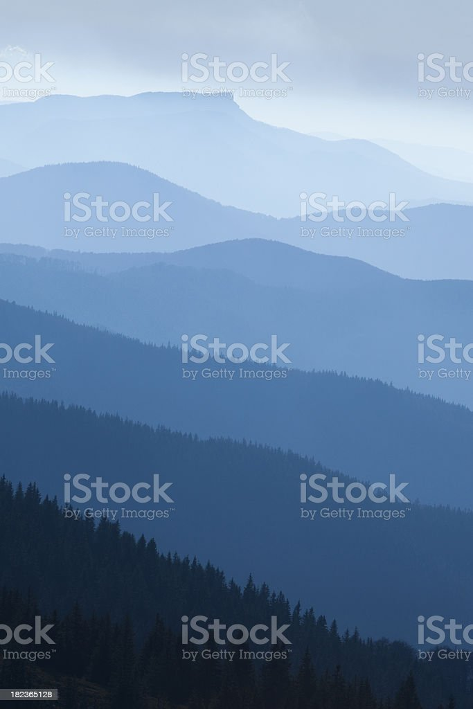 Rolling hills. royalty-free stock photo