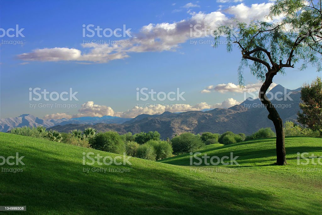 Rolling Hills Vista royalty-free stock photo