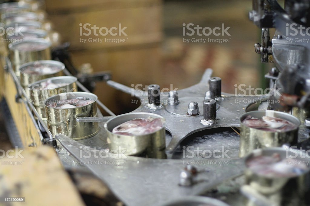 rolling tin stock photo