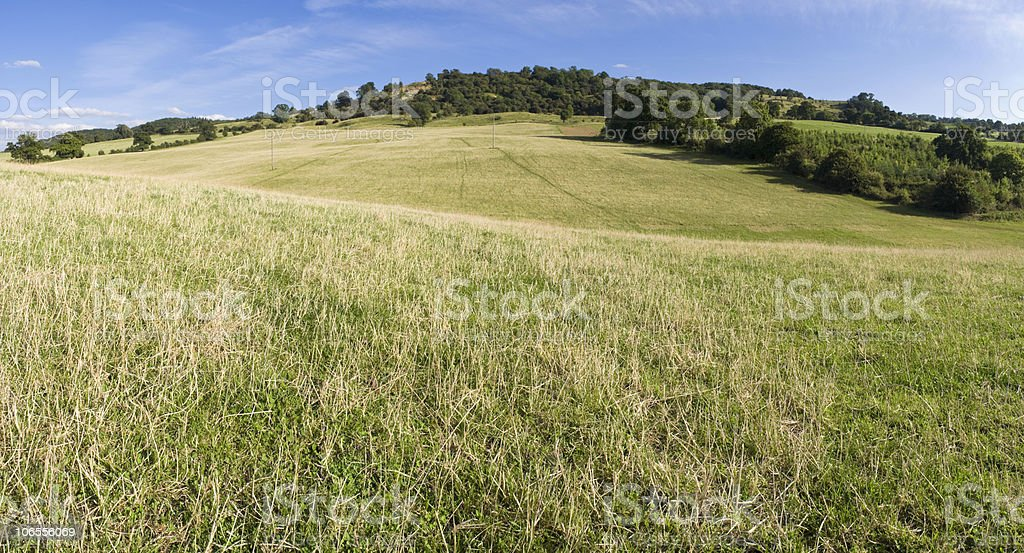 Rolling rural royalty-free stock photo