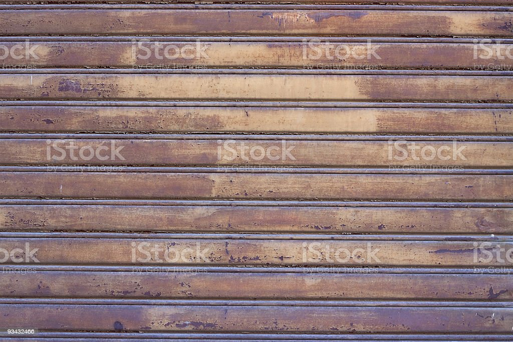Rolling shutter royalty-free stock photo