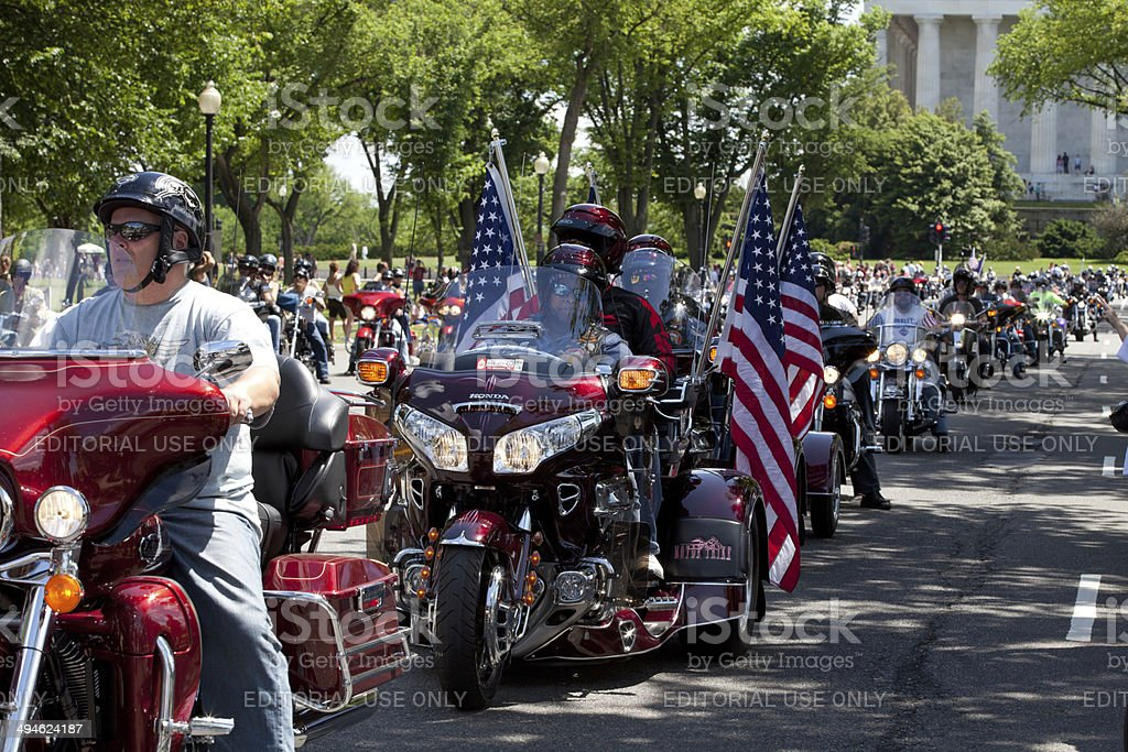 Rolling Thunder stock photo