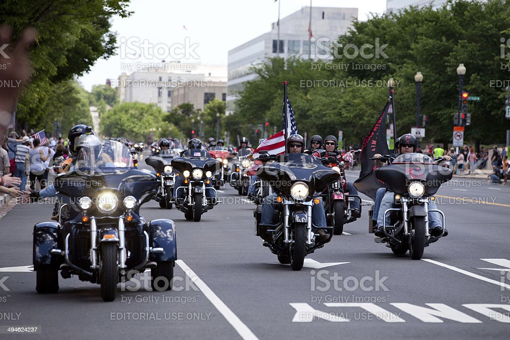Rolling Thunder ride stock photo