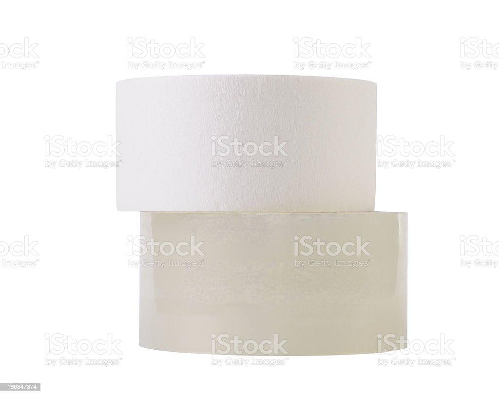 Rolls of tape stock photo
