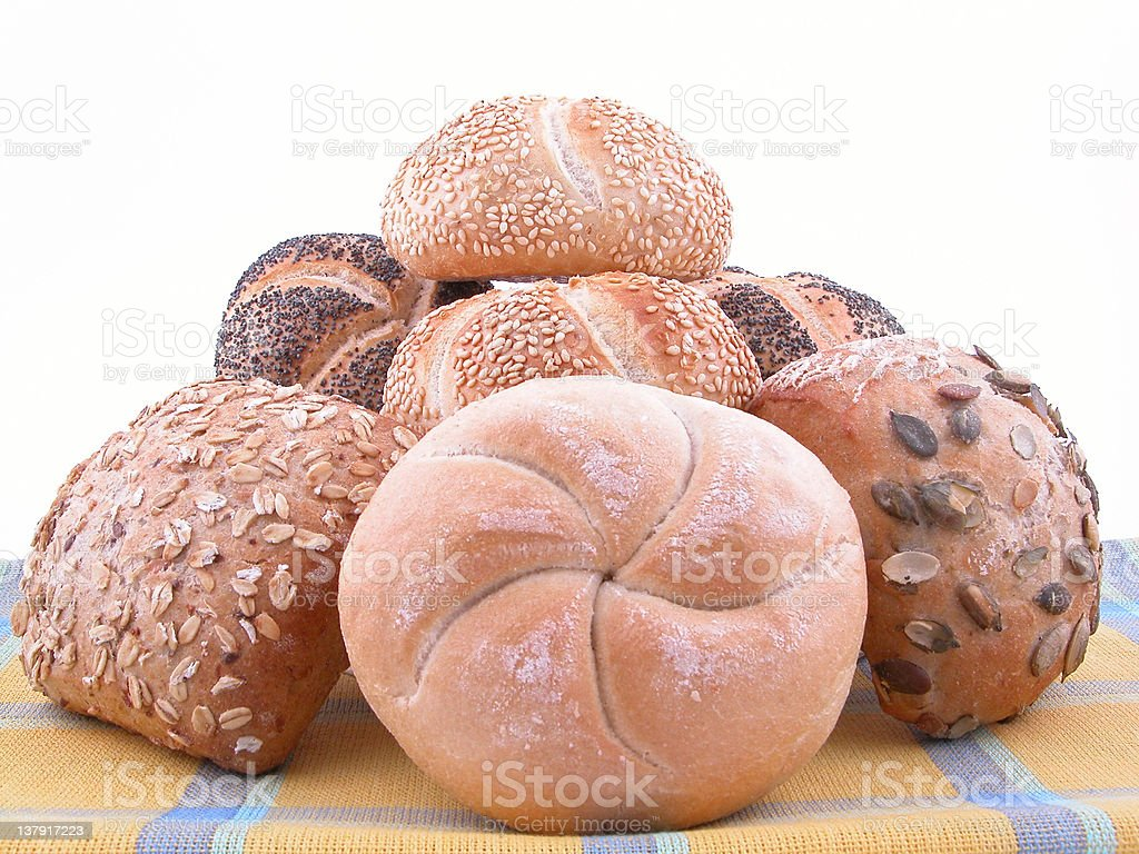 rolls royalty-free stock photo