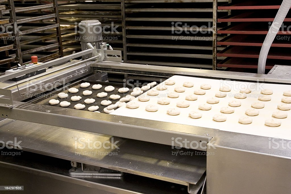 Rolls Production royalty-free stock photo