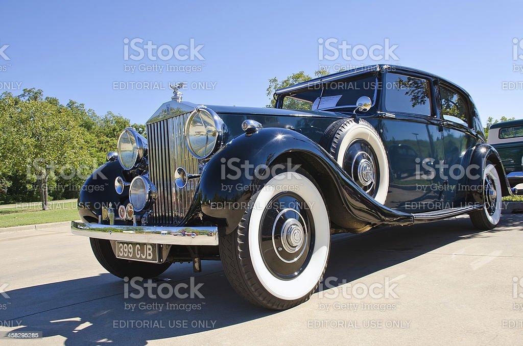 Rolls Royce 1937 Phantom 3 stock photo