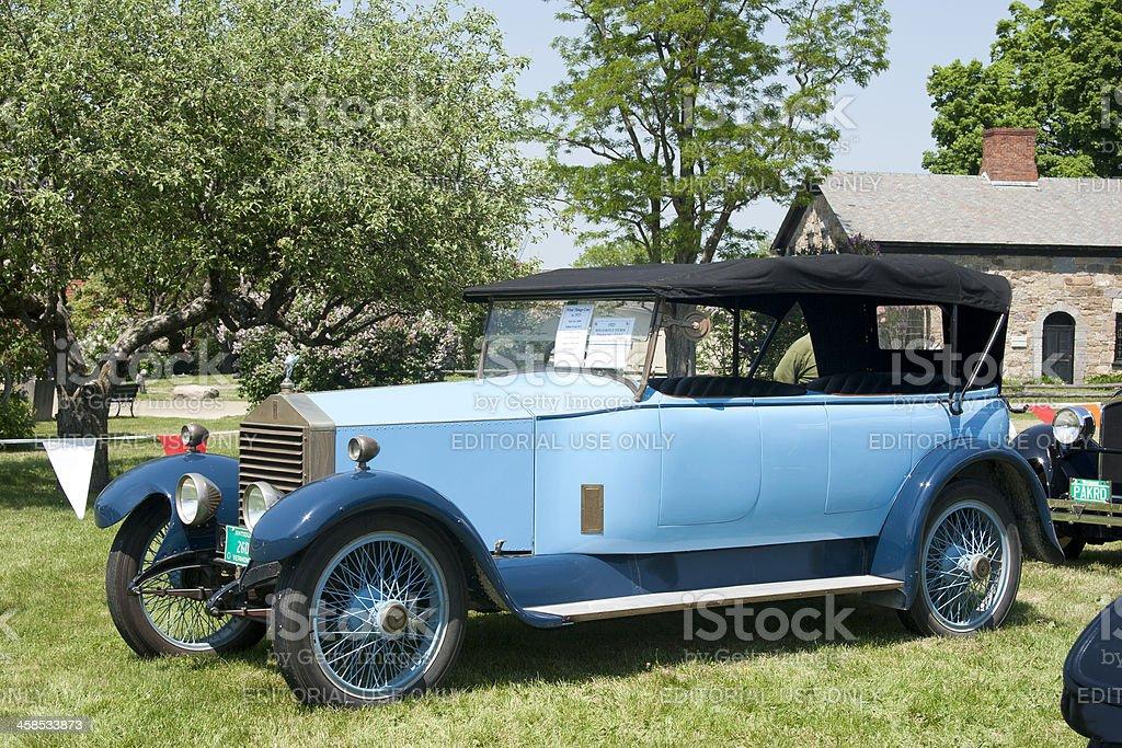 Rolls Royce Convertible Tourer 1923 stock photo