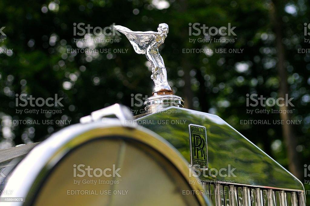 Rolls Royce front stock photo