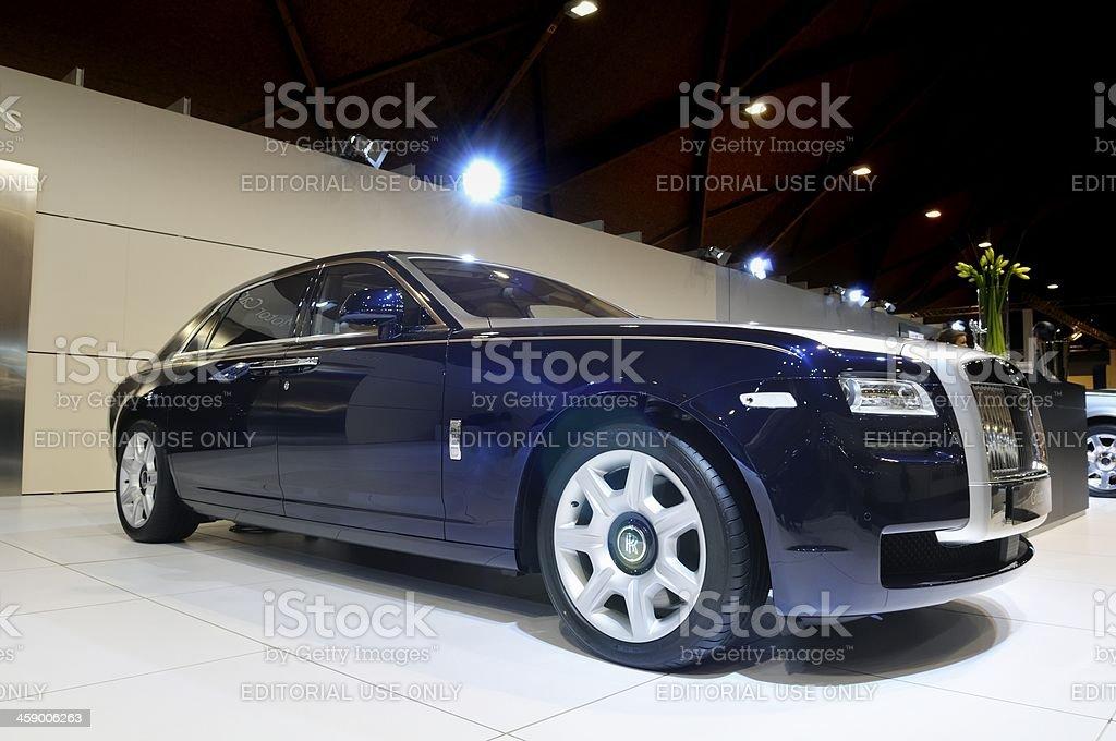 Rolls Royce Ghost stock photo