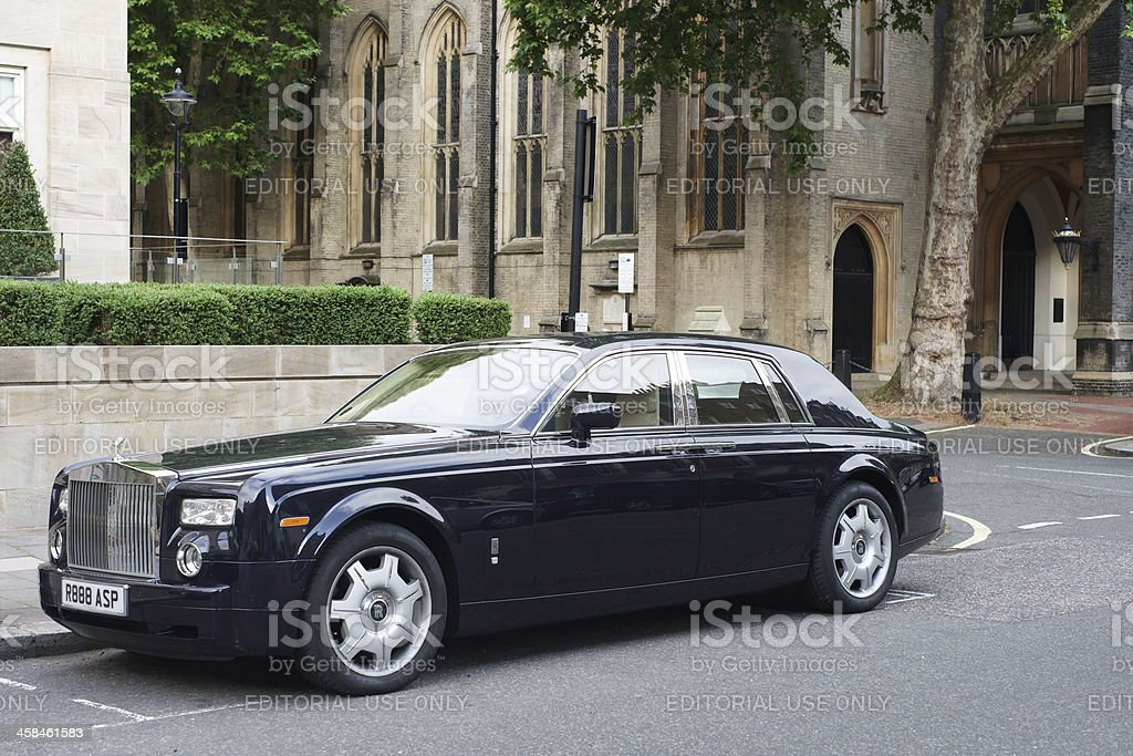 Rolls Royce Phantom royalty-free stock photo