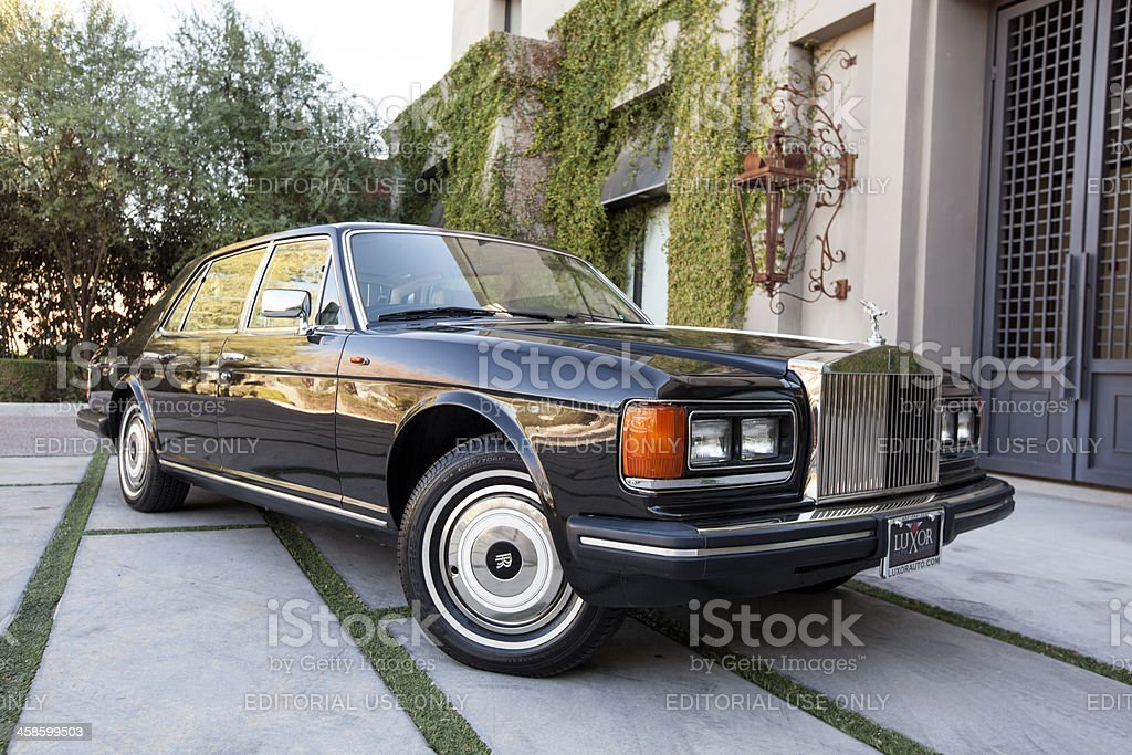 Rolls Royce Silver Spur 1987 royalty-free stock photo