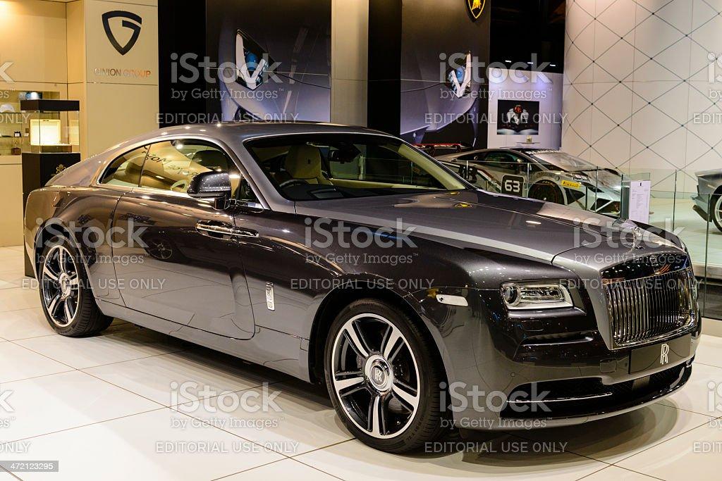 Rolls Royce Wraith stock photo