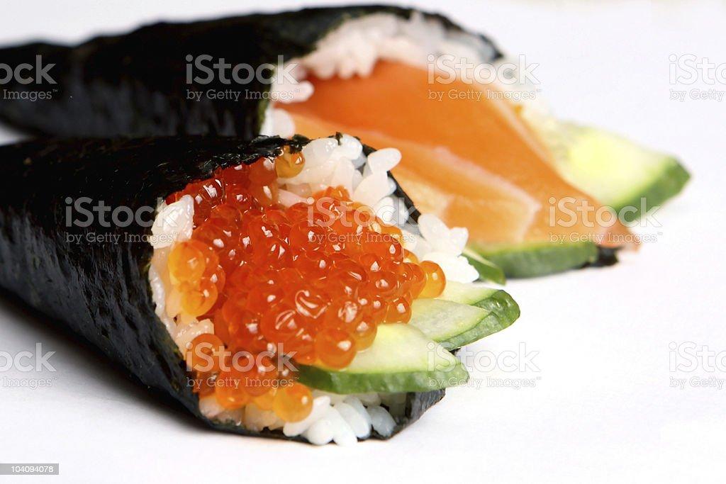 rolls sushi royalty-free stock photo