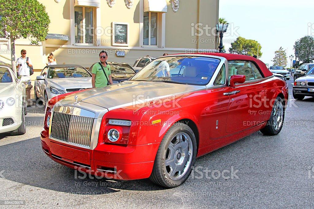 Rolls-Royce Phantom Drophead Coupe stock photo