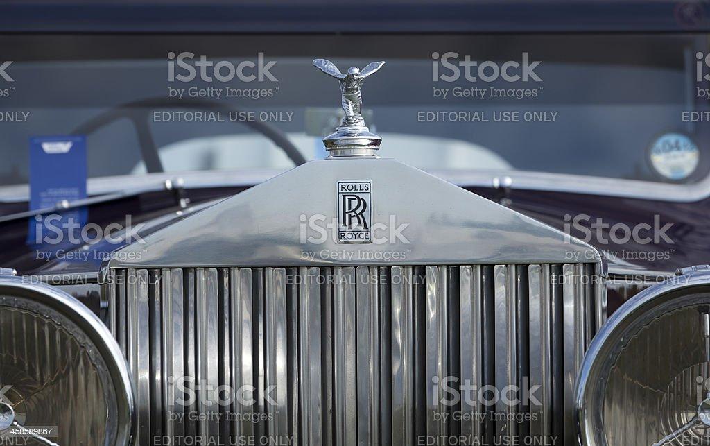Rolls-Royce stock photo
