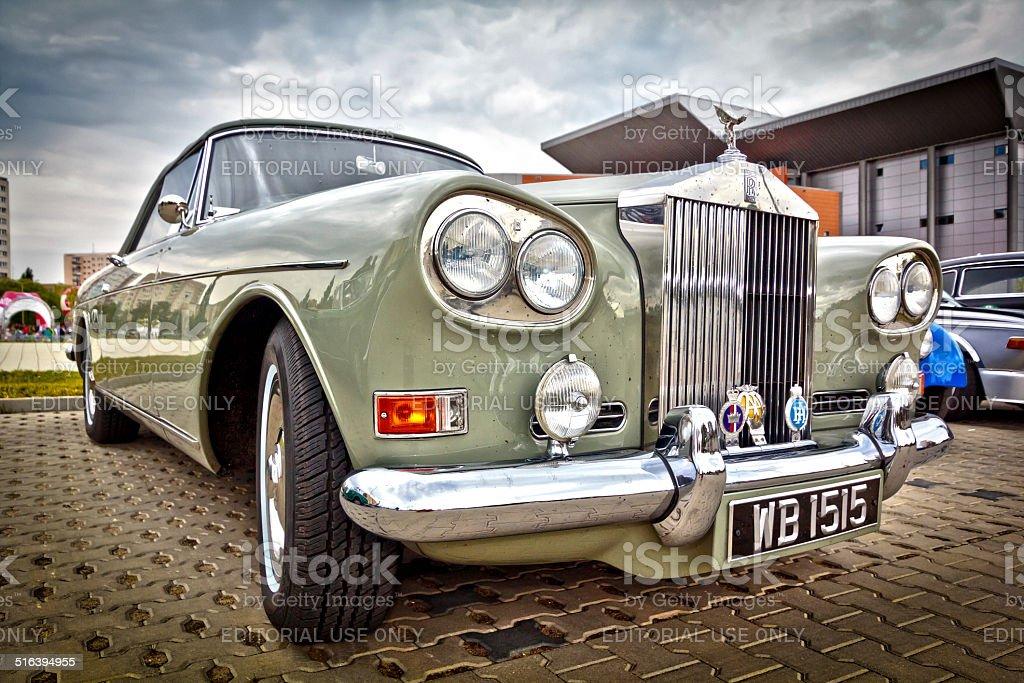 Rolls-Royce Silver Cloud III Drophead Coup? stock photo