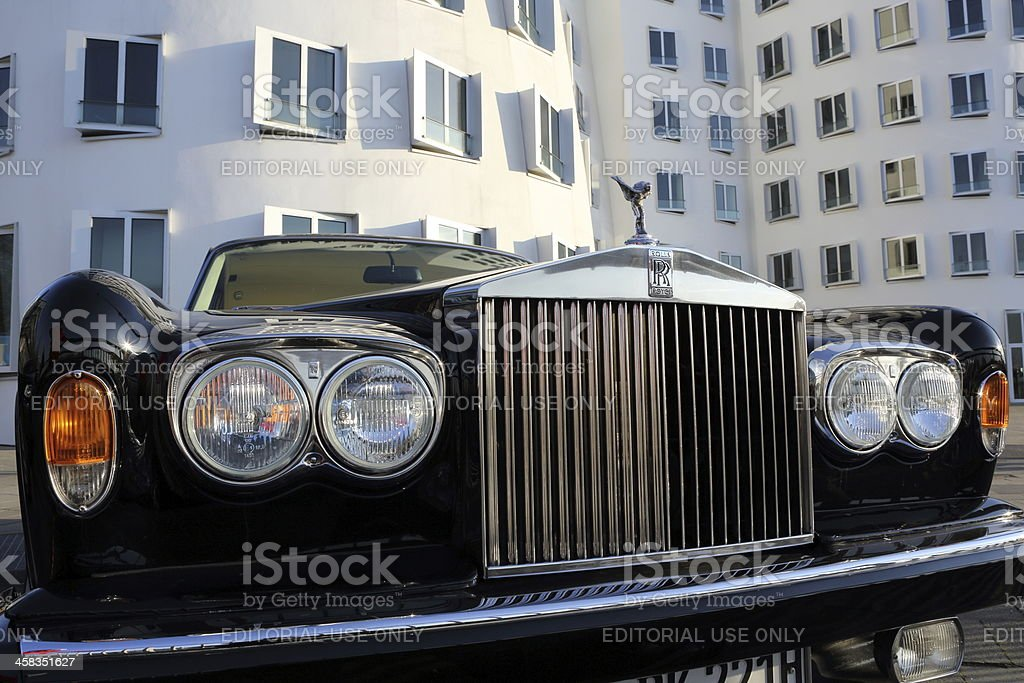 Rolls-Royce Silver Shadow royalty-free stock photo