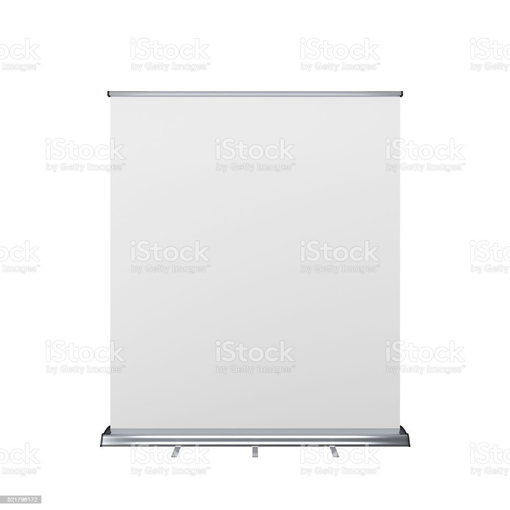 rollup or banner stock photo