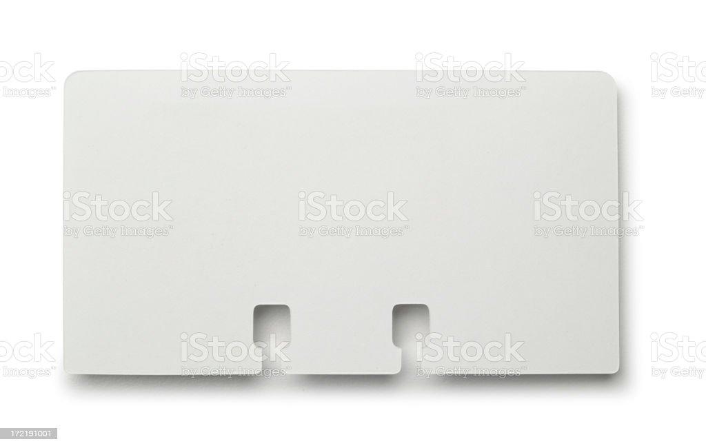 Rolodex Card stock photo