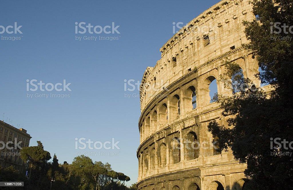 Rom, coliseum royalty-free stock photo