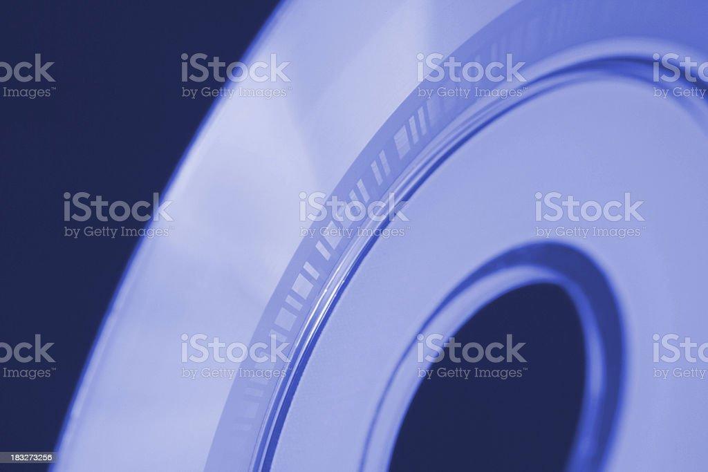 CD Rom Macro stock photo