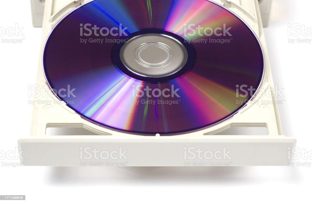 DVD Rom stock photo