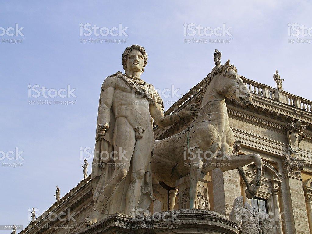 Roma - Capitoline Hill royalty-free stock photo
