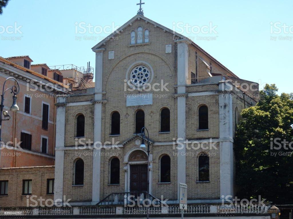 Roma - Chiesa di San Vincenzo de Paoli stock photo