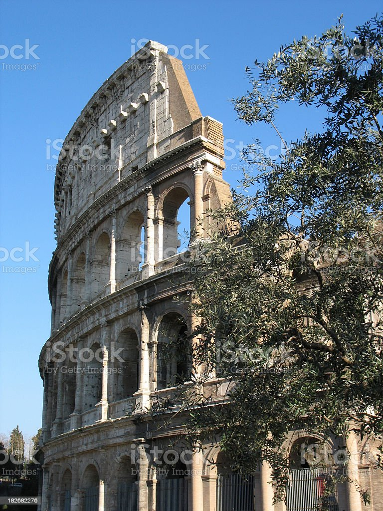 Roma Coliseum royalty-free stock photo