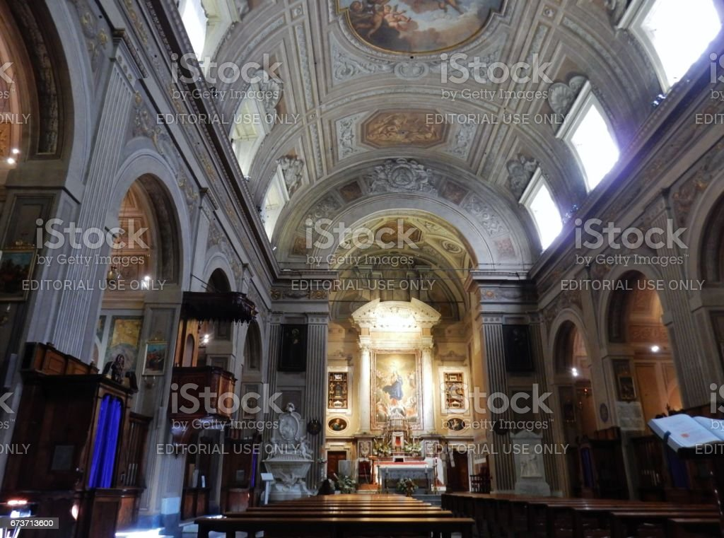 Roma - Convento dei Cappuccini stock photo