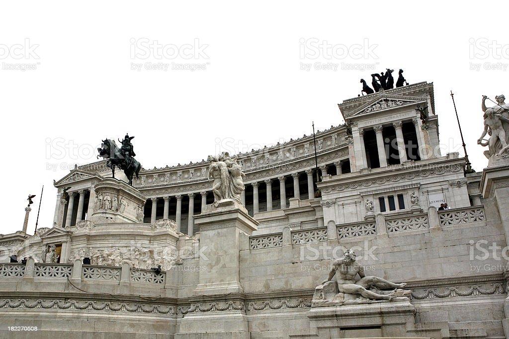 roma il vittoriano royalty-free stock photo