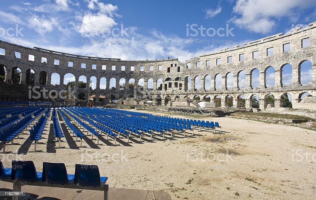 Roman Amphitheater royalty-free stock photo
