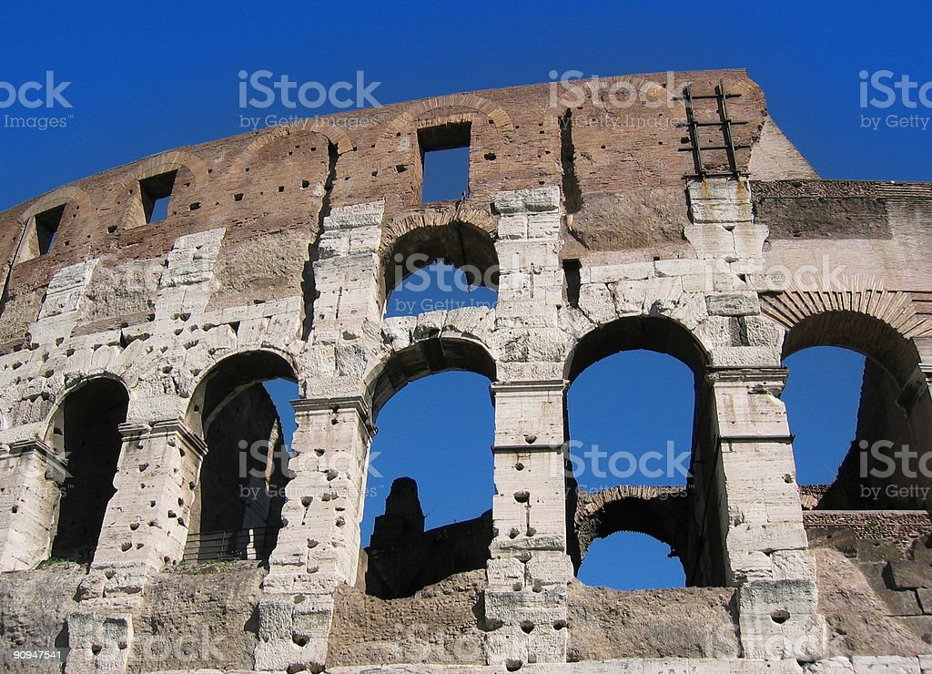 Roman arches royalty-free stock photo