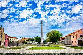 Roman architecture square scenic.