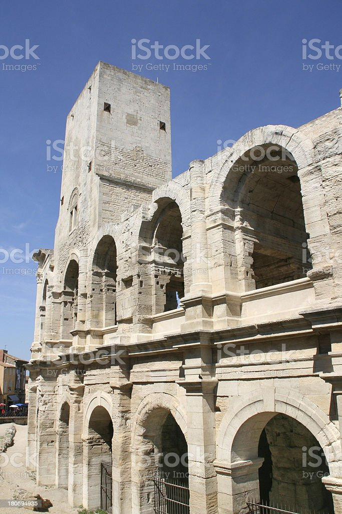 Roman Arena in Arles, France. royalty-free stock photo