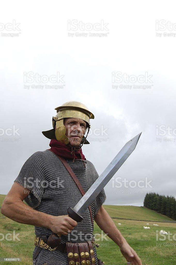 Roman Army. stock photo