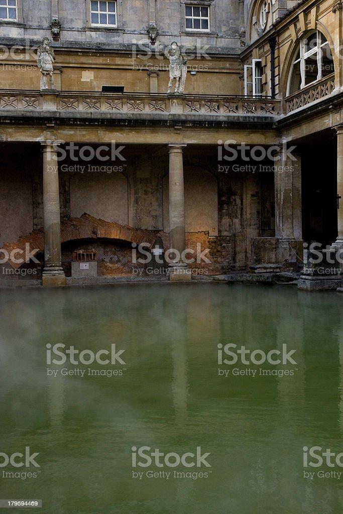 Roman Bath royalty-free stock photo