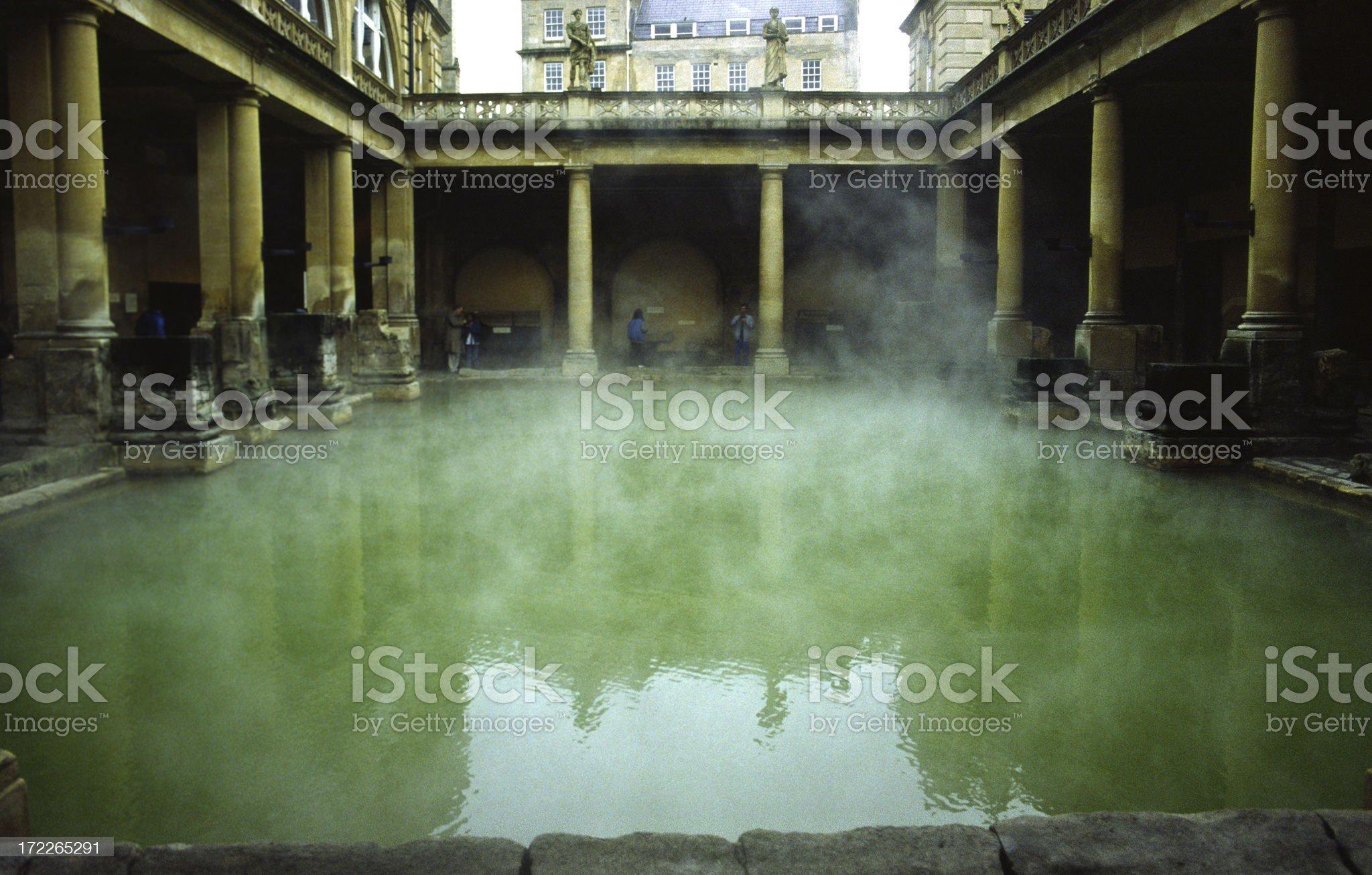 Roman Baths royalty-free stock photo