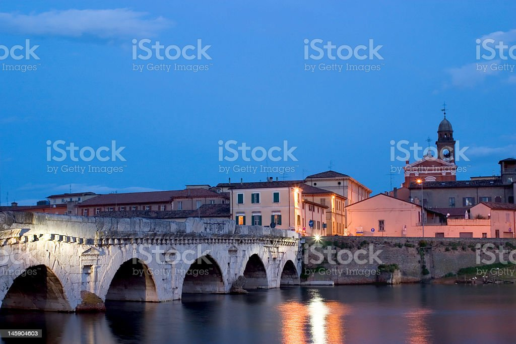 Roman Bridge royalty-free stock photo