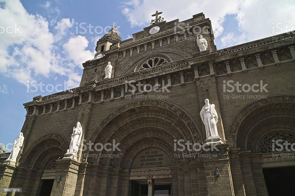 Roman Catholic Cathedral of Manila royalty-free stock photo